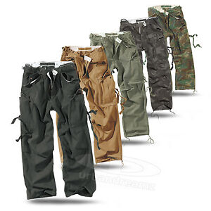 surplus vintage fatigues trousers cargo trousers worker