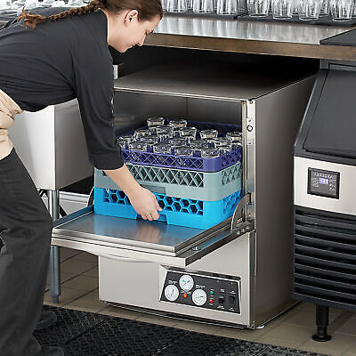 High Temp Undercounter Stainless Steel Commercial Restaurant Dishwasher 208230v