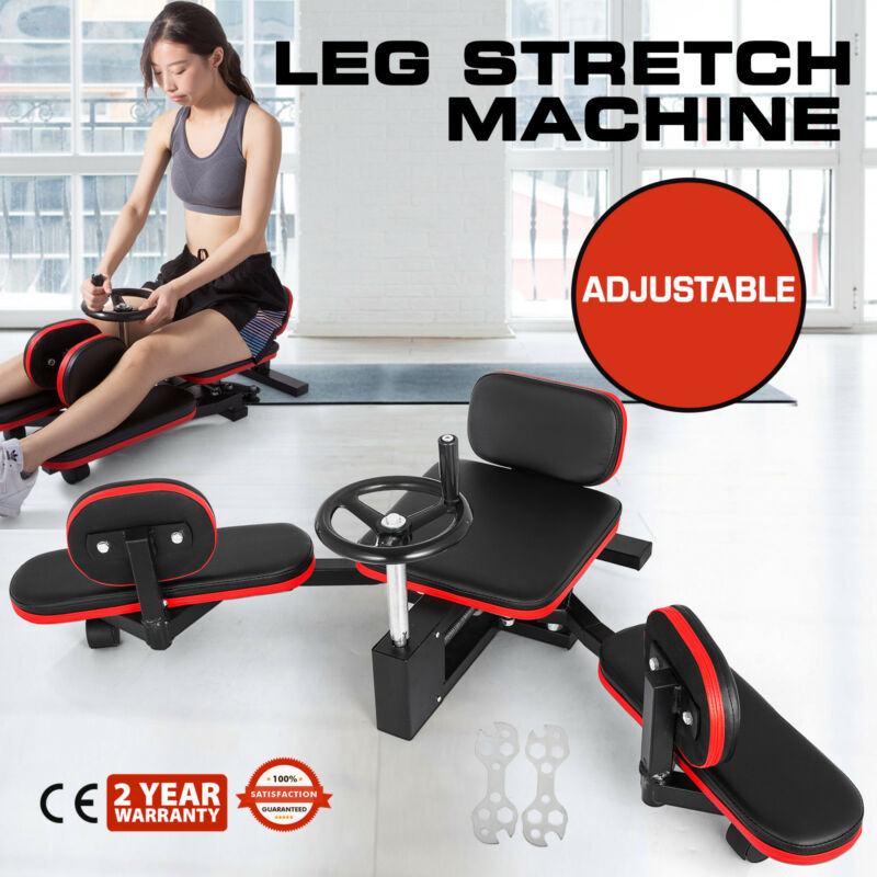 New in Box Leg Stretcher MMA Stretching Machine Split Training Martial Arts Gear