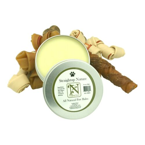 Paw Balm for Dogs and Cats | Natural | Protects and Repairs Dry, Cracked Paws