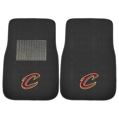 (Cleveland Cavaliers 2 Piece Embroidered Car Auto Floor Mats)