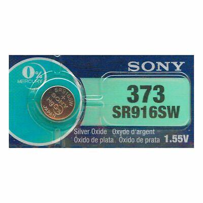 1 NEW SONY 373 SR916SW SR916 silver oxide watch battery - JA