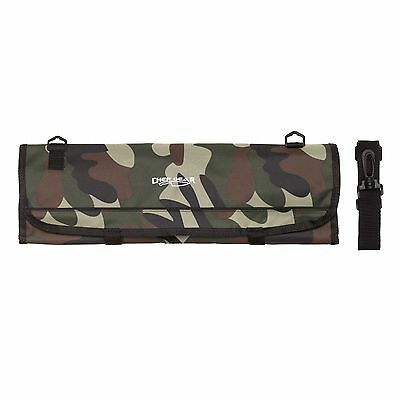 9 POCKET Chef Knife roll bag knife Camouflage Camo Chef Gear by Ergo Chef   Chefs Knife Roll