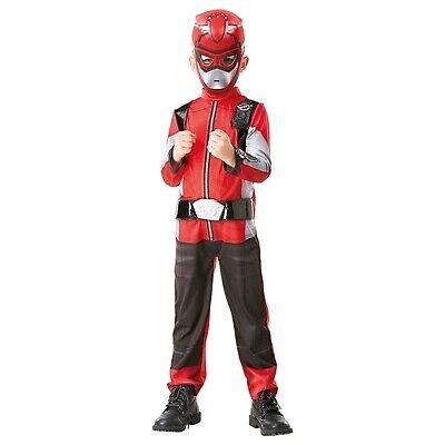 Rubies 3300458 - Red Power Ranger Beast Morpher Deluxe, Gr S - M
