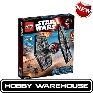 LEGO 75101 Star Wars First Order Special Forces TIE fighter (BRAND NEW SEALED)