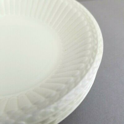Lot of 3 WEDGWOOD Edme FRUIT SAUCE DESSERT BOWLS Classic All-Cream Ivory White  Mint Cream Sauce