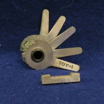 Curtis Model 15 Key Code Cutter Clipper Toy-1 Cam Toy-1 Carriage 5 Cut Toyota