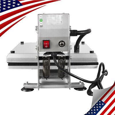 Us Sale Heat Press Transfer Digital Clamshell 15x15 Hat Cap Sublimation Machine