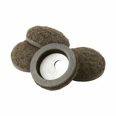 Super Sliders 4334495N Formed Felt Furniture Movers For For Hard Surfaces, 1-...