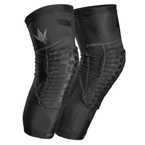 Bunkerkings Fly Compression Knee Pads - Black