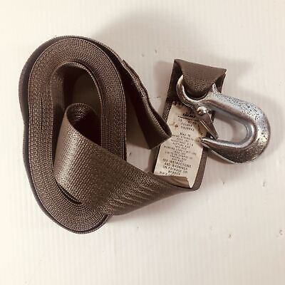 Immi Boat And Trailer Strap 2 X 20 With Hook F05868