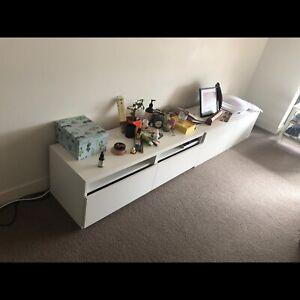Ikea BESTA media furniture TV