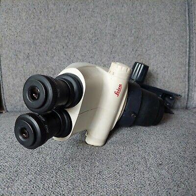 Leica S4e Stereo Zoom Microscope Head Binoculars