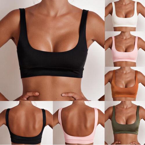 Damen Bikini Oberteil Sport-BH Bikini-BH für Schwimmen und Fitness Bademode Tank
