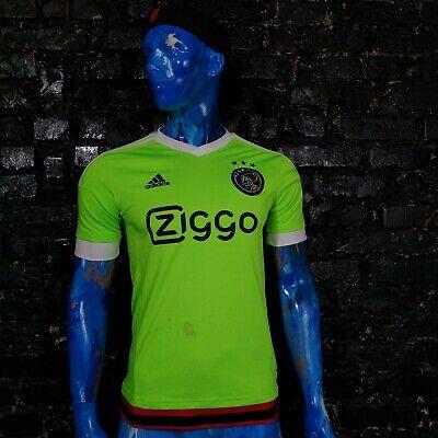 Ajax Jersey Away football shirt 2015-2016 Green Adidas S08206 Trikot Mens Size S image