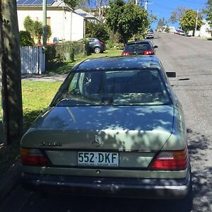 Mercedes 280E 1988 unreg Red Hill Brisbane North West Preview