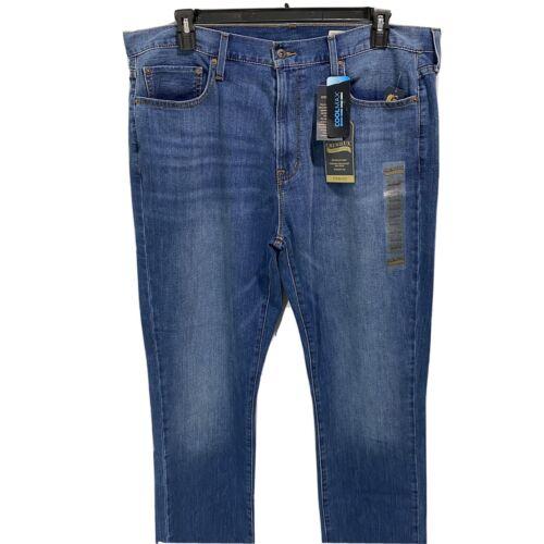 Cremieux Premium Mens Blue Jeans Straight Fit Stretch Denim 40×34 Vintage Blue Clothing, Shoes & Accessories
