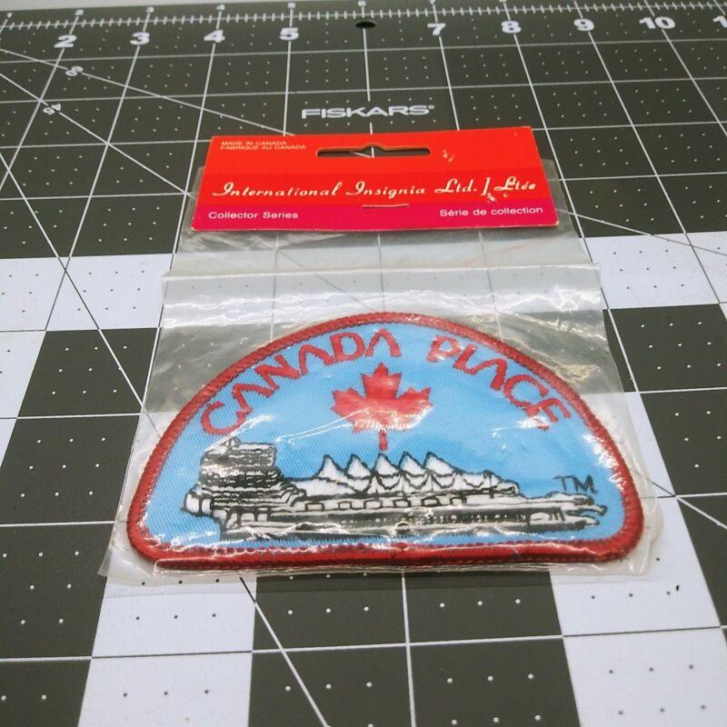 Canada Place International Insignia Ltd. Collector Series Emblem Patch Vintage