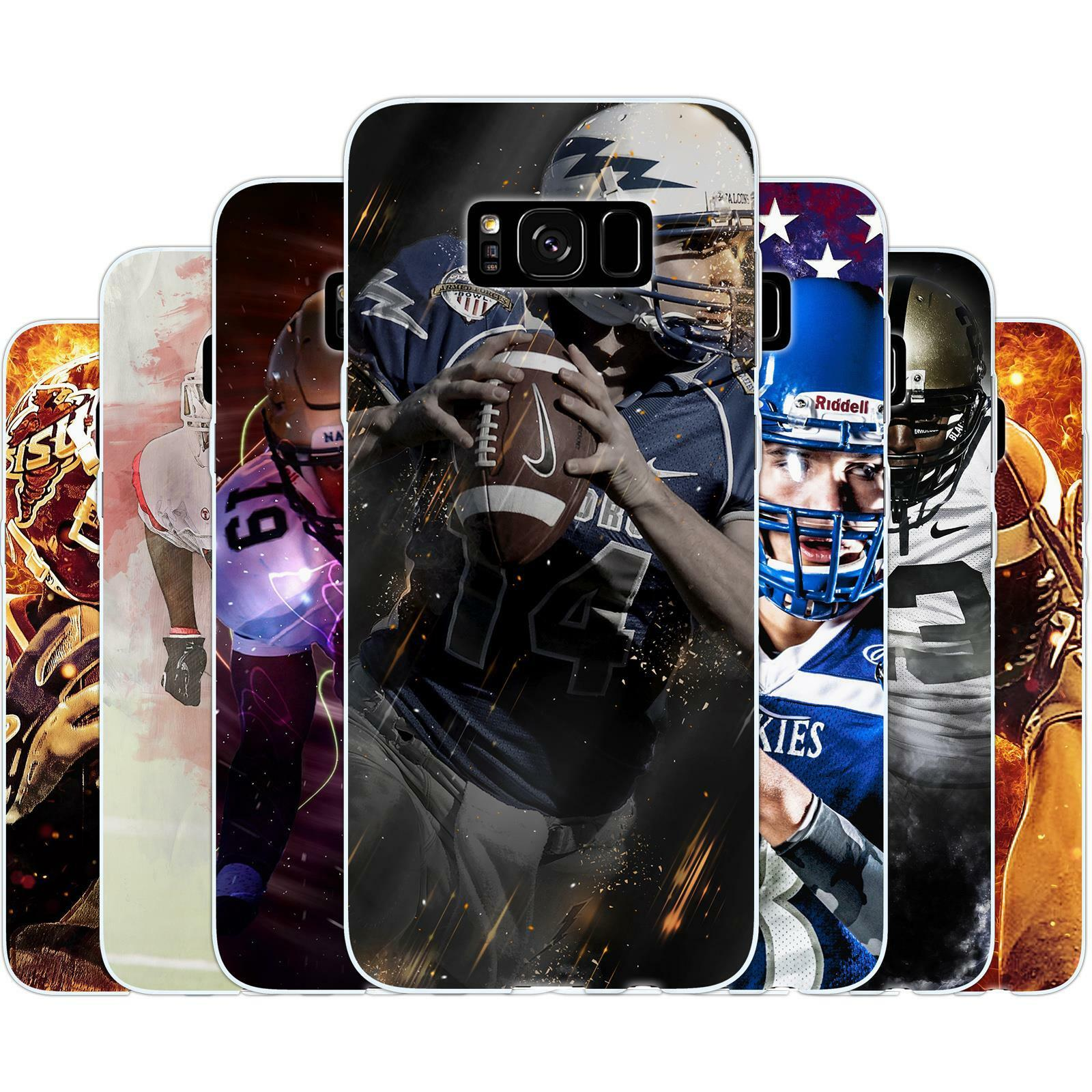 Dessana American Football Protective Case Thin Cover Cell Ph