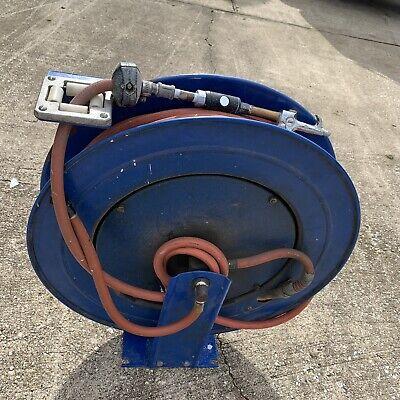 Coxreels Tsh-n-3100 38-inch X 100-foot Airwater Spring Hose Reel Pre Owned
