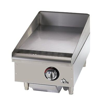 Star 615mf Star-max 15 Manual Countertop Gas Griddle Grill