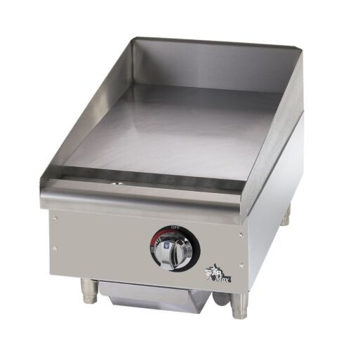 """Star 615mf Star-max 15"""" Manual Countertop Gas Griddle Grill"""