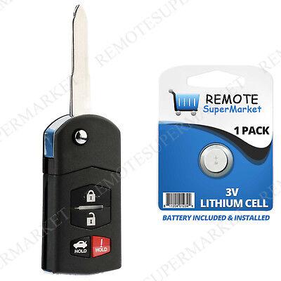 Replacement for Mazda 05-10 6 Sedan 06-08 MX-5 Miata 04-11 RX-8 Remote Key Fob