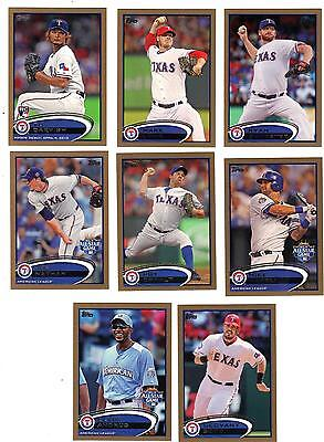 2012 Topps Update Gold Mike Napoli All Star   2012 Texas Rangers  Us 177
