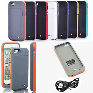 2500mah External Backup Battery Case Charger Pack Power
