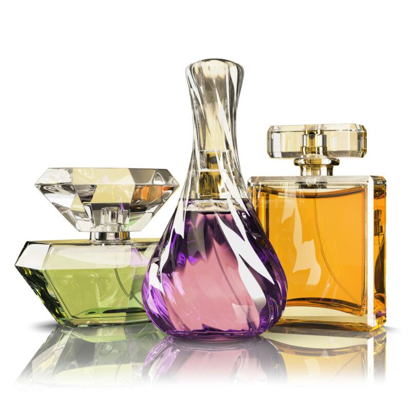 An der Farbe des Parfums lässt sich auf die Duftfamilie schließen. (Foto: Thinkstock)