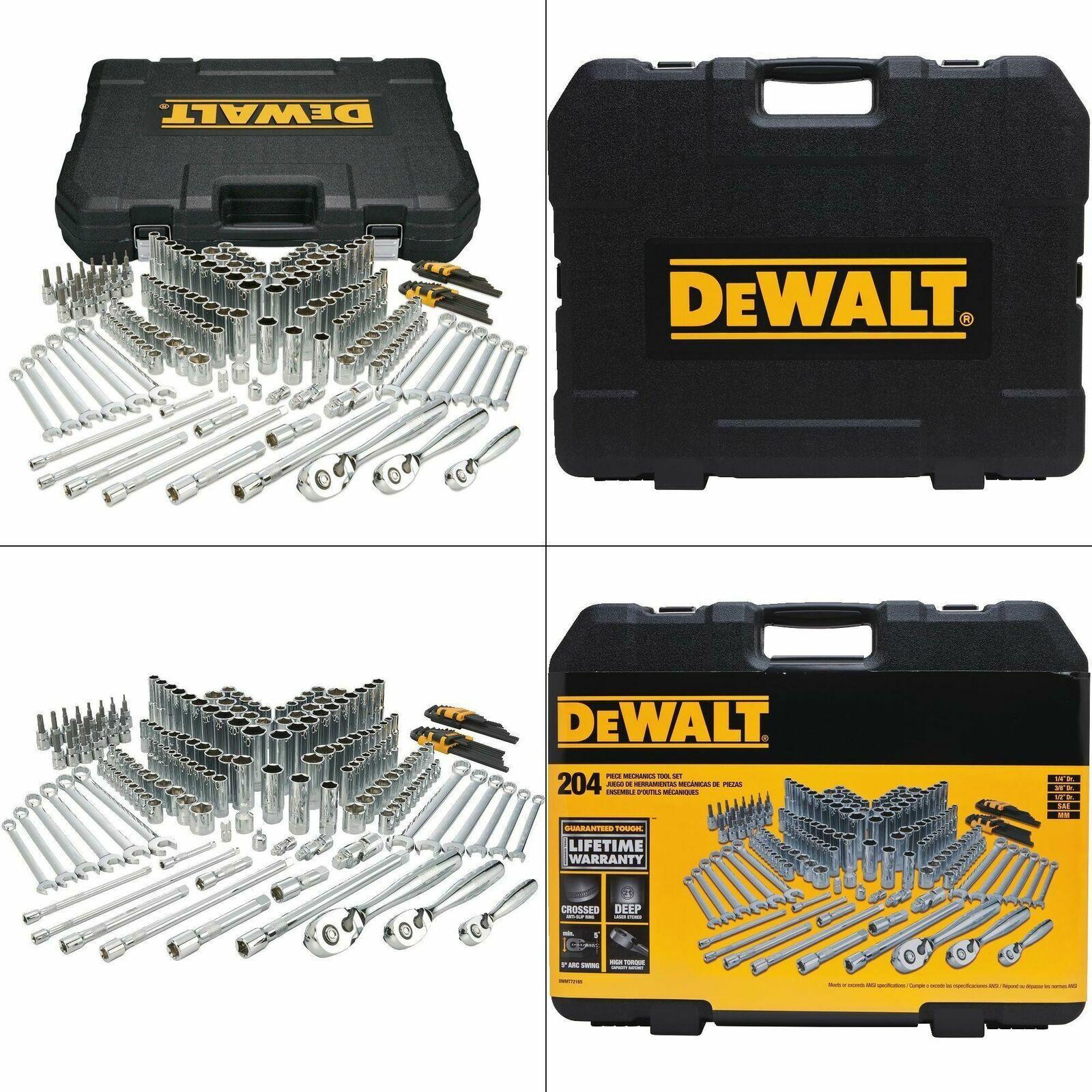 mechanics tool set    dewalt socket tools kit craftsman case