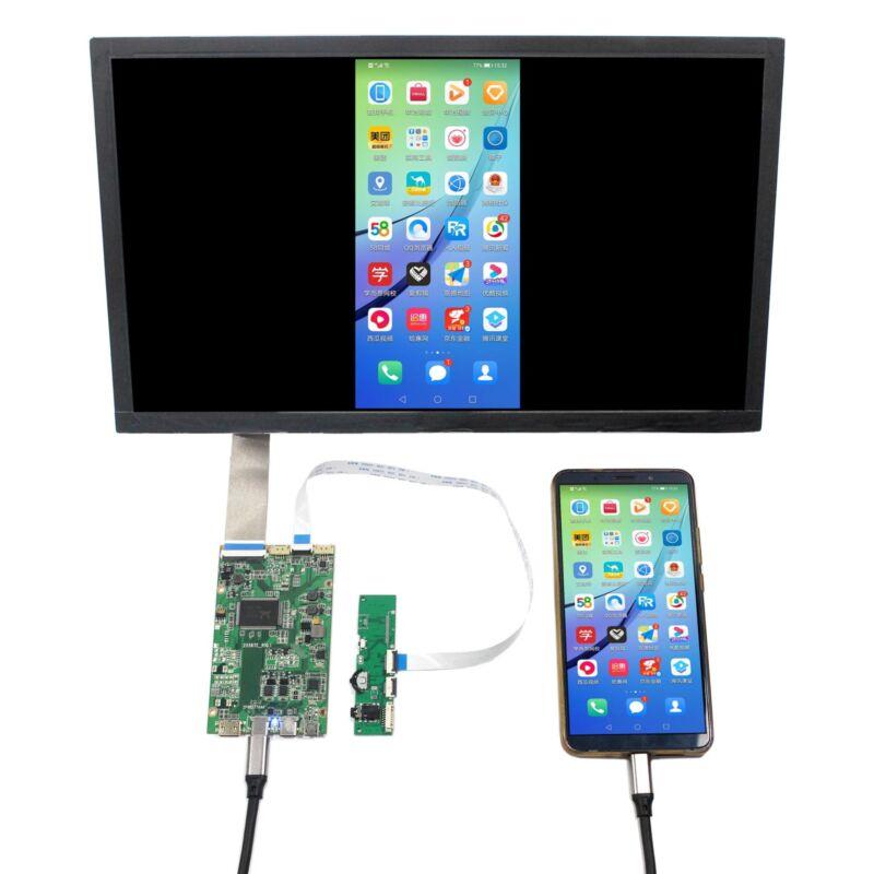 "HDM I Type C LCD Controller Board 13.3""  2560X1440 NV133QHM A51 IPS LCD Screen"