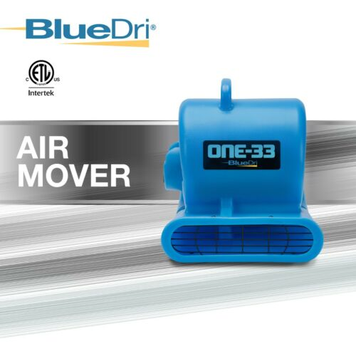 BlueDri One-33 Air Mover Industrial & Commercial Grade Heavy Duty Air Mover Fan