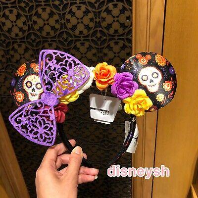 Shanghai Disney Halloween Minnie Mouse Ear Headband hair band NEW - Halloween Minnie Ears