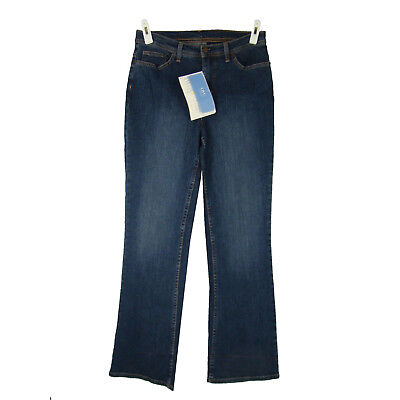 DENIM & Co Jeans 6 NEW Mid Rise Boot Cut Stretch Medium Wash Denim 5 Pocket NWT