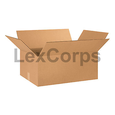 20 Qty 24x16x10 Shipping Boxes Lc Mailing Moving Cardboard Storage Packing