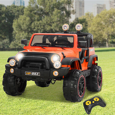12V Kids Ride on Car Toys Powered Electric Wheel w/ Remote Control LED Lights