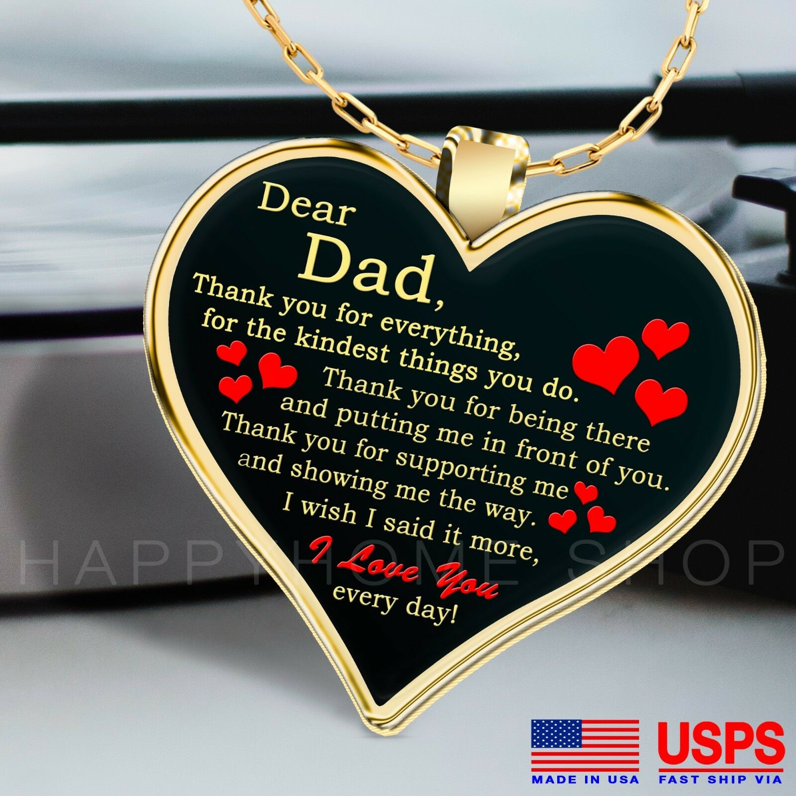 Father\u2019s Day gift Dad gift Gift from daughterson charm Father\u2019s Day Bracelet Gift Best dad gift I love you Dad Grandpa Gift