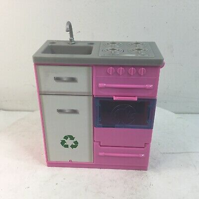 Barbie DREAMHOUSE Replacement FHY73 STOVE SINK OVEN Sounds, Lights Works