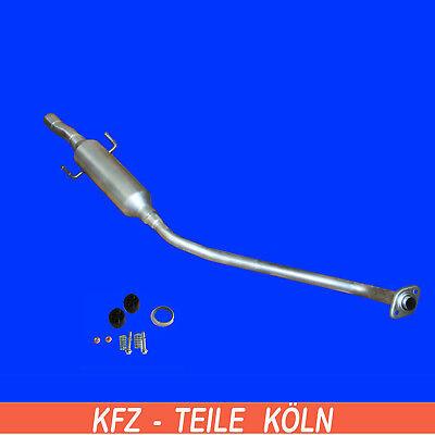Stufenheck Kombi Auspuff Mittel+Endschalldämpfer Toyota Corolla 1.4 1.6 01-04