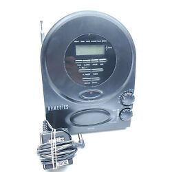 Homedics SS-400B Nature Sounds Clock Radio Sound Soother Machine Helps you Sleep