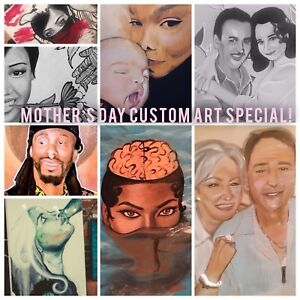 Mother's Day Custom Art Special!