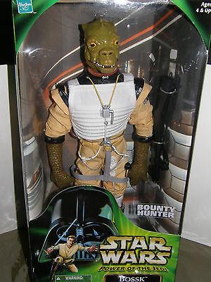 Star wars  Power of the Jedi .   .Bounty Hunter Bossk  2000 action figure