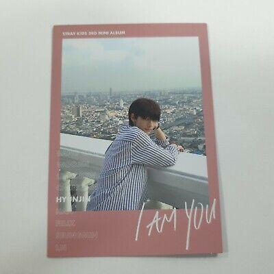Stray Kids 3rd Mini I AM YOU Official Hyunjin photocard 1p K-POP QR Photo Card