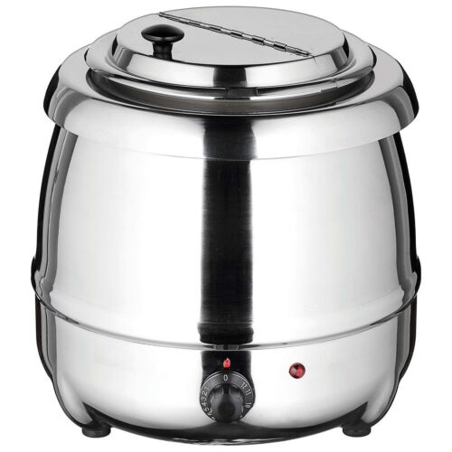 Winco ESW-70, Stainless Steel Soup Warmer
