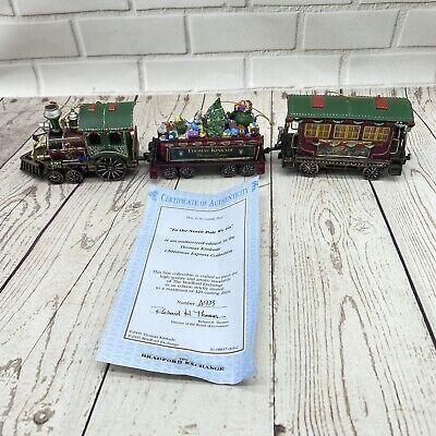 Thomas Kinkade's Christmas Express Train Ornaments Set of 3 - 2009