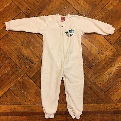 Footed Sleeper Pajamas Pj S (NFL KID'S New York Jets FOOTED BLANKET SLEEPER PAJAMAS PJ'S TODDLER SIZE 3T)