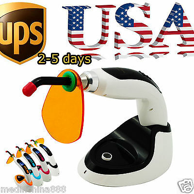 Wireless Cordless Led Dental Curing Light Lamp 10w 2000mw Teeth Whiteningusa