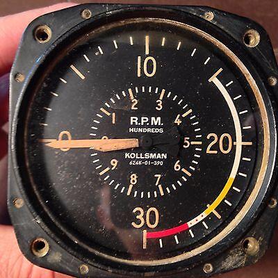 Kollsman Electronic Tachometer   624k-01-390