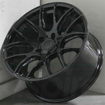 "18"" ESR SR12 Wheels Black 18x8.5 +35 5x114.3 Rims Fits Honda Acura Lexus Set 4"